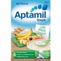غذای کمکی شیر غلات موز و زردآلو آپتامیل aptamil