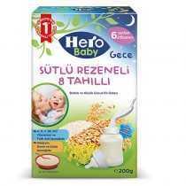 غذای کمکی هشت غله و رازیانه هرو بیبی Hero Baby