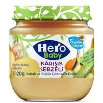 پوره مخلوط سبزیجات با روغن زیتون هروبیبی Hero Baby