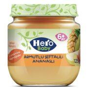 پوره مخلوط گلابی آناناس هلو هروبیبی hero baby