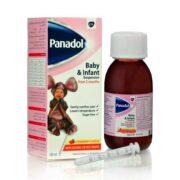 شربت ضد درد و تب بر پانادول Panadol