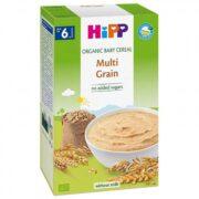 غذای کمکی ارگانیک مخلوط غلات بدون شیر هیپ Hipp