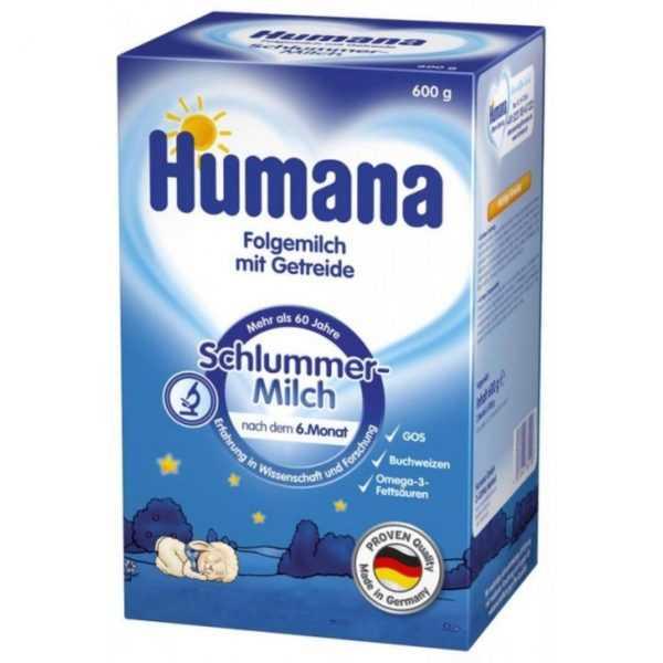 image 600x600 - شیرخشک مخصوص شب هومانا Humana
