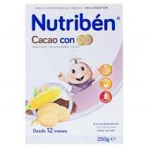 غذای کمکی کودک بیسکویت با کاکائو Nutribén