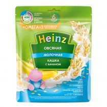 سرلاک(غذای کمکی )شیر بلغور جو دوسر و موز امگا 3 هاینز HEINZ