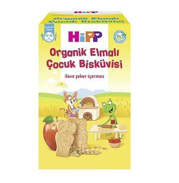 بیسکویت اورگانیک کودک با طعم سیب هیپ Hipp