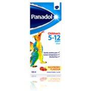 شربت ضد درد و تب بر 5 تا 12 سال پانادول panadol