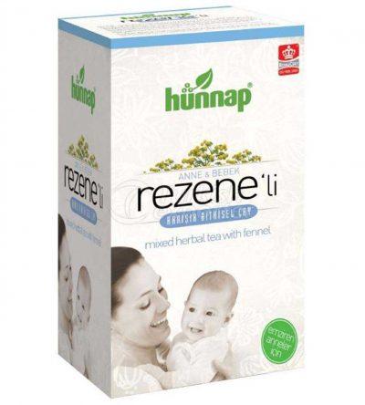 چای مادر و بچه رازیانه هوناپ Hunnap