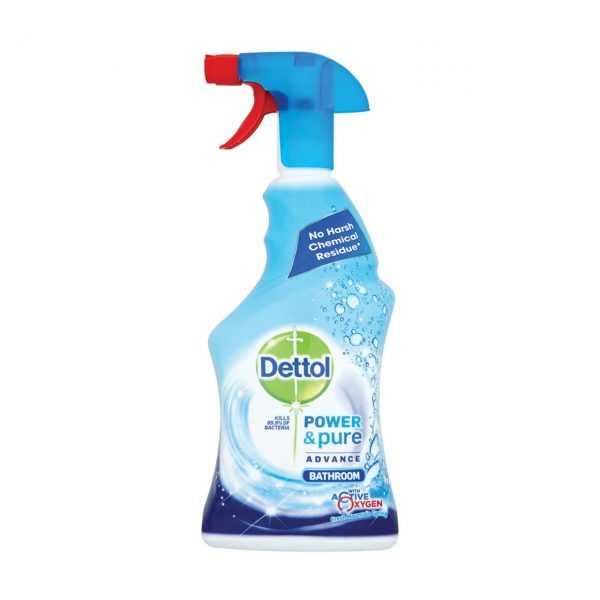اسپری پاک کننده سطوح حمام و سرویس بهداشتی دتول Dettol