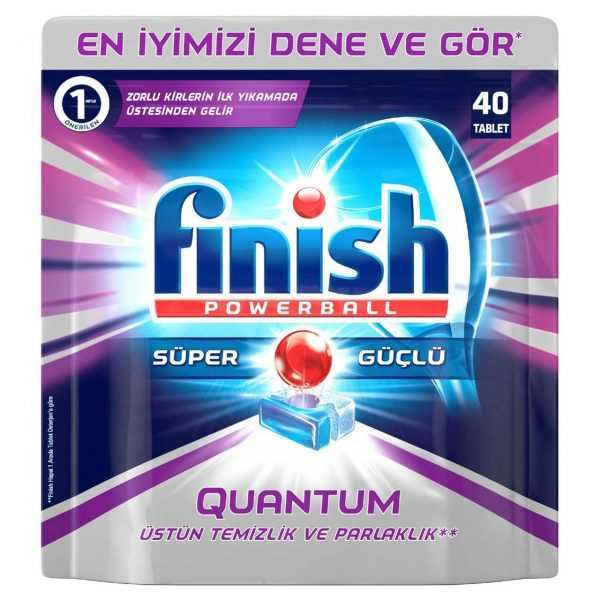 قرص ماشین ظرفشویی 40 عددی فینیش Finish