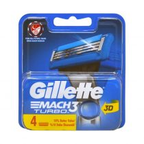 یدک تیغ اصلاح 3 لبه ژیلت Gillette Mach Turbo