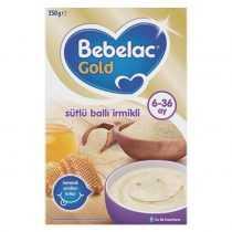 سرلاک شیر عسل با آرد سمولینا ببلاک Bebelac