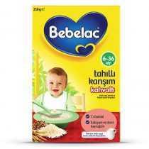 غذای کمکی صبحانه برنج و چاودار ببلاک Bebelac