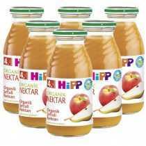پکیج اقتصادی آب میوه ارگانیک نکتار هلو و گلابی هیپ Hipp