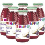 پکیج اقتصادی آب میوه ارگانیک نکتار آلو و گلابی هیپ Hipp