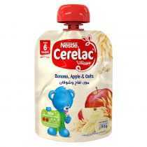 پوره ساندیسی موز و سیب و جو نستله Nestle Cerelac