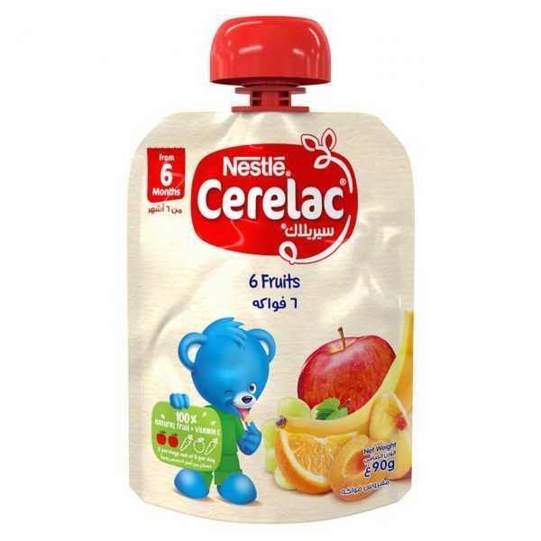 پوره ساندیسی هفت میوه نستله Nestle Cerelac