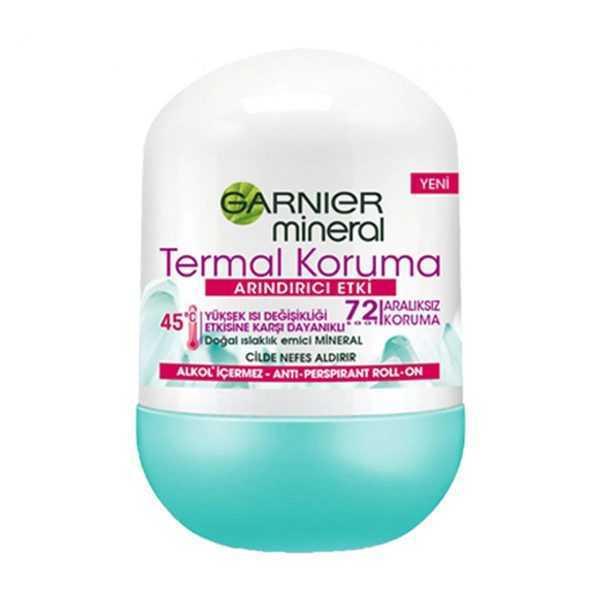 رول ضد عرق محافظ حرارت گارنیه Garnier Mineral