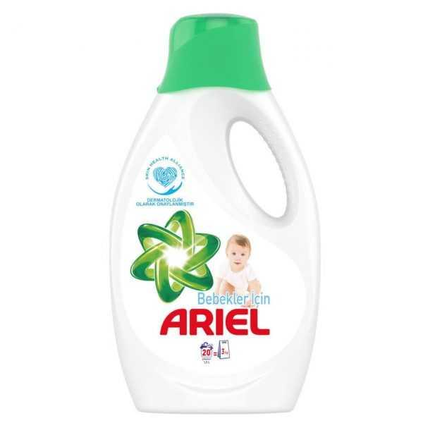 ژل ماشین لباسشویی کودک 1.3 لیتری آریل Ariel