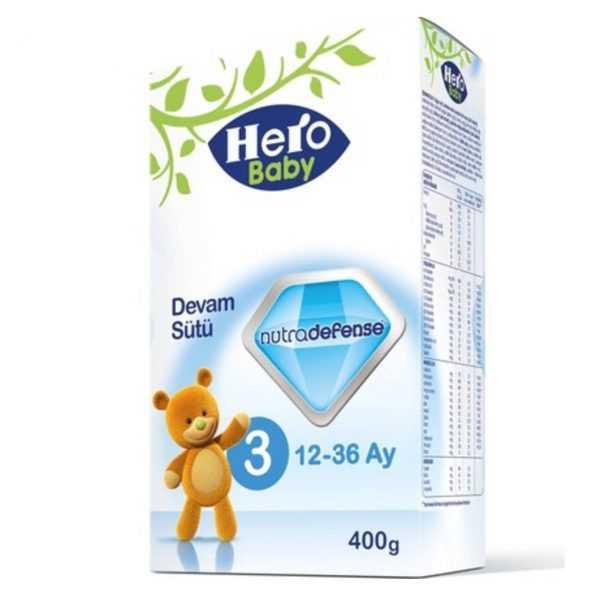 شیر خشک شماره 3 هرو بیبی Hero Baby
