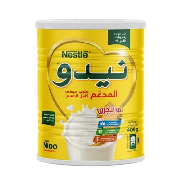شیر خشک تقویتی 400 گرمی نیدو نستله Nido Nestle