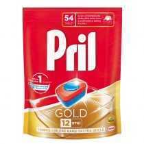 قرص ماشین ظرفشویی 54 تایی گلد پریل Pril Gold