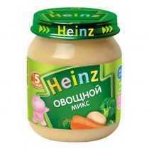 پوره مخلوط سبزیجات هاینز Heinz