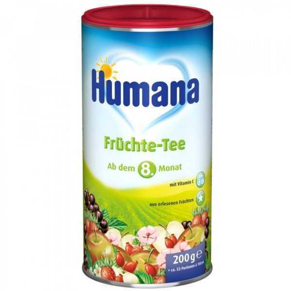 چای میوه کودک هومانا Humana