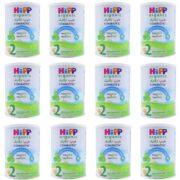 پکیج اقتصادی 12 تایی شیر خشک ارگانیک شماره دو هیپ Hipp