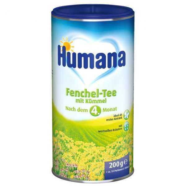 چای رازیانه کودک هومانا Humana