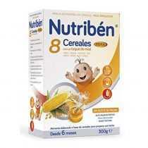 سرلاک 8 غله با عسل بدون شیر با فیبر نوتریبن Nutriben