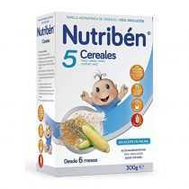 سرلاک 5 غله بدون شیر نوتریبن Nutriben