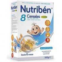 سرلاک 8 غله بدون شیر سبوس دار نوتریبن Nutriben