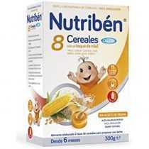 سرلاک 8 غله با عسل بدون شیر با کلسیم نوتریبن Nutriben