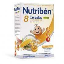 سرلاک 8 غله با عسل بدون شیر با هضم آسان نوتریبن Nutriben