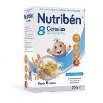 سرلاک 8 غله بدون شیر نوتریبن Nutriben