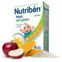 سرلاک 2 غله با برنج و سیب بدون شیر نوتریبن Nutriben