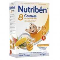 سرلاک 8 غله با عسل بدون شیر نوتریبن Nutriben