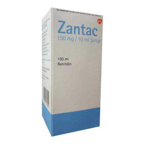 شربت رانیتیدین 150ml زانتاک Zantac