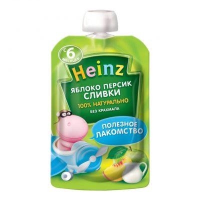 پوره ساندیسی سیب و هلو هاینز Heinz