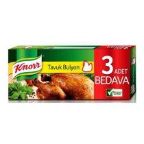 قرص عصاره مرغ 12 عددی کنور Knorr