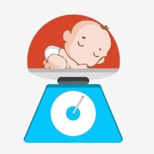 وزن گیری نوزاد 6 ماهه