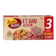 عصاره گوشت بیزیم موتفاک 12 عددی Bizim Mutfak