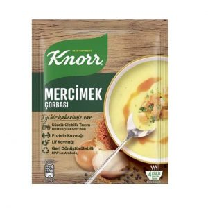 سوپ عدس کنور با پیاز Knorr