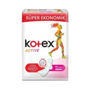 نوار بهداشتی 18 عددی کوتکس مدل Kotex Active