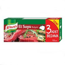 عصاره گوشت کنور 12 عددی Knorr