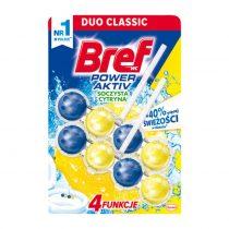 خوشبو کننده و ضدعفونی کننده توپی مخصوص توالت فرنگی لیمویی برف Bref