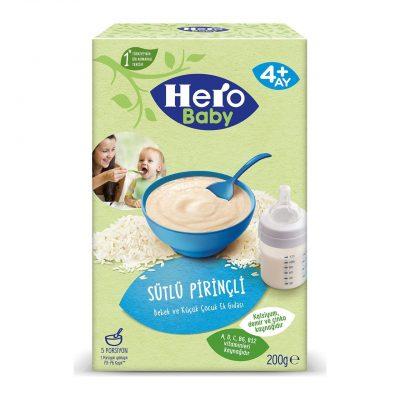 غذای کمکی فرنی شیربرنج هروبیبی Hero Baby