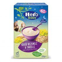 غذای کمکی هشت غله و رازیانه با شیر هرو بیبی Hero Baby