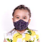 ماسک کودک 3 لایه پارچه ای قابل شستشو مدل ستاره